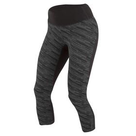 PEARL iZUMi W's Flash 3/4 Shorts Black/Shadow Grey